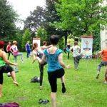 V Yoga in the Park