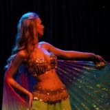 Belly Dance Show with wings