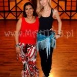 Lubna Emam (Egypt) and Mahtab