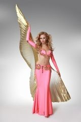 Mahtab with Isis wings