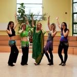 25 Festiwal Progressteron, warsztat 'Taniec włosów z Zatoki Arabksiej - khaleegy'