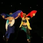 Duet z fan veils, IX Szczypta Orientu