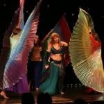 Taniec ze skrzydłami Izis