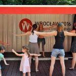 Parki Pełne Kultury ESK 2016 Wrocław, lekcja tańca brzucha